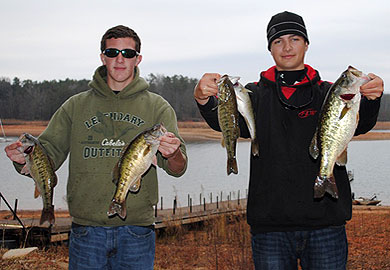 TL Hanna fishing tourney winners