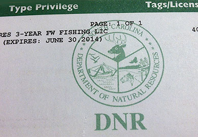 Renew your state hunting and fishing license for Renew fishing license