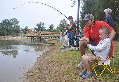 Sign up now for May 11 Lake Russell kids fishing rodeo