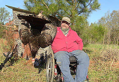 Wheelchair turkey hunt held in Upstate
