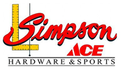 Sponsored by Simpson ACE Hardware and Sports
