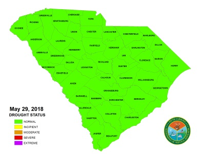 All counties are currently in normal status.