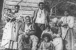 Five Generations on Smiths Plantation. Courtesy of Library of Congress