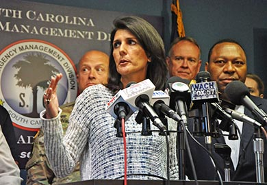 Gov. Haley urges more to evacuate