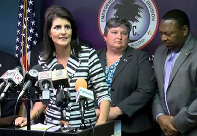 Gov. Haley declares state of emergency, coastal evacuations to begin Wednesday