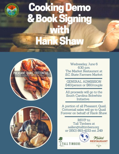 Cooking Demo & Book Signing with Hank Shaw