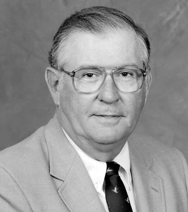 South Carolina Natural Resources Board 'Chairman Emeritus' Marion Burnside of Columbia pictured during his Board service in 1988 (SCDNR photo by Ted Borg)