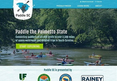 GoPaddleSC website connects people to state waterways