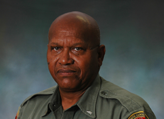 SCDNR Lt. Ulyssses Fleming. [SCDNR photo]