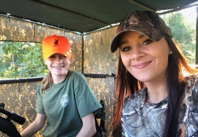 New Special pre-season Youth Days established this year by the South Carolina General Assembly will provide youth hunters 17 years old and younger with the opportunity to harvest a white-tailed deer on the Saturday before the start of the regular season in each game zone in South Carolina.  [photo courtesy the SCDNR TOMO program.]