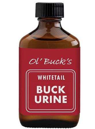 A bottle of Buck Urine