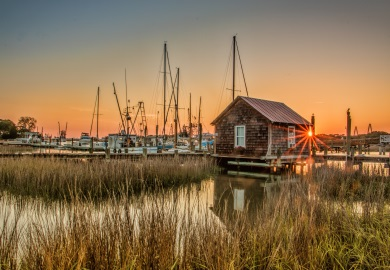 Photo by Thia Beniash: Shem Creek, Mount Pleasant