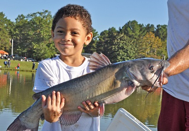 SCDNR fishing rodeos are for children ages six to 15