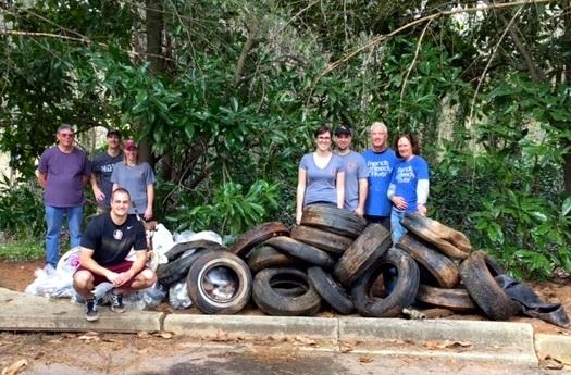 Los días de limpieza y muchas otras actividades organizadas por 'Friends of the Reedy River' han marcado una profunda diferencia en la vida del Río y la comunidad que lo rodea.