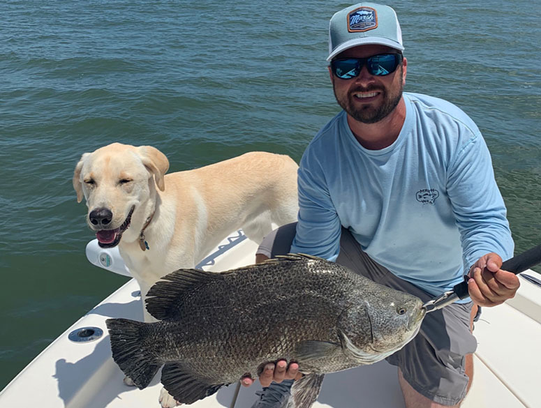 Atlantic tripletail now have a minimum size limit of 18 inches in South Carolina, matching neighboring states. (Photo: Captain Jake Parker, Hilton Head)