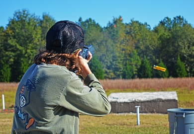Wateree Range offers skeet shooting, trap shooting, five-stand shooting, and sporting clays