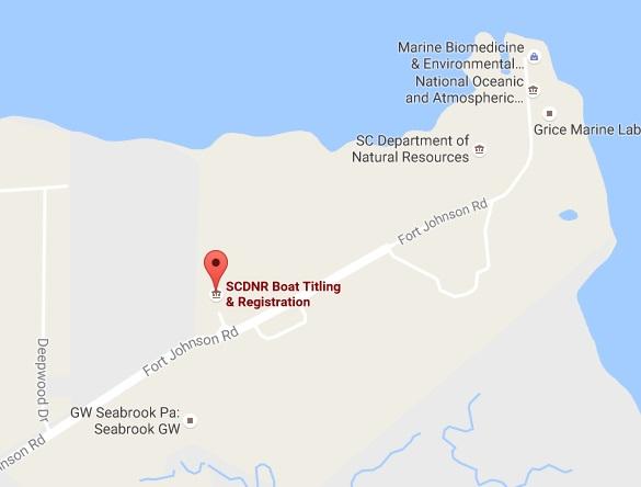 Map To Charleston Office