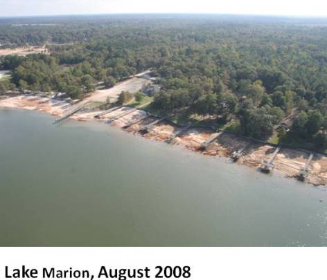 Lake Marion, August 2008