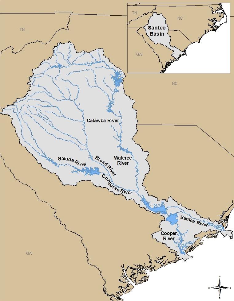 SCDNR - Santee Basin Diadromous Fish Plan