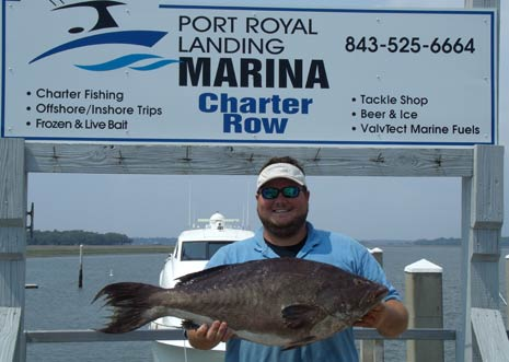 Scdnr saltwater game fish records for sc for Sc dnr fishing license