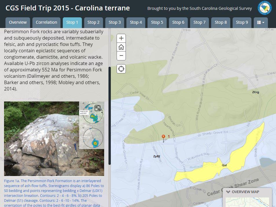 South Carolina Geological Survey - Us geological survey local map