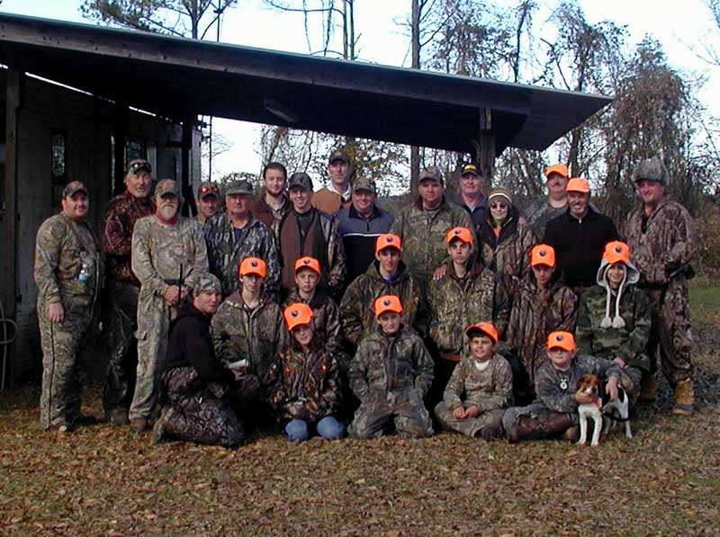 Youth Deer Hunt Participants