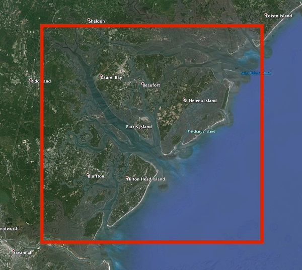 Cobia Map Inset