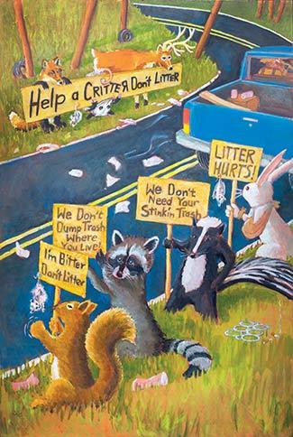 Help A Critter Don T Litter